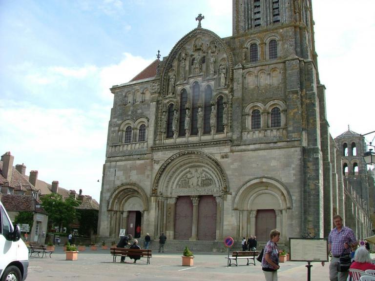 La Basilique Ste Madeleine à Vézelay