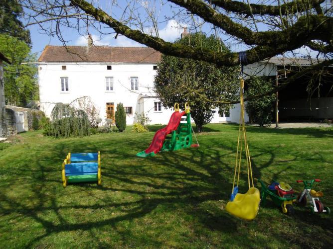 les jeux dans le jardin